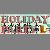 Portfolio Image 6, banner graphic design-illustration for holiday party email