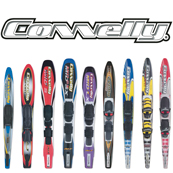Portfolio Image 31, 2000 Connelly waterskis brand line model graphics